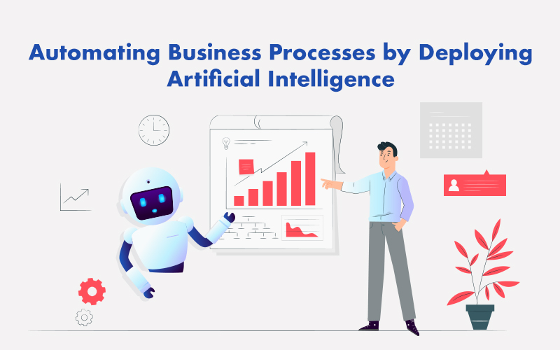 Automating Business Processes by Deploying Artificial Intelligence